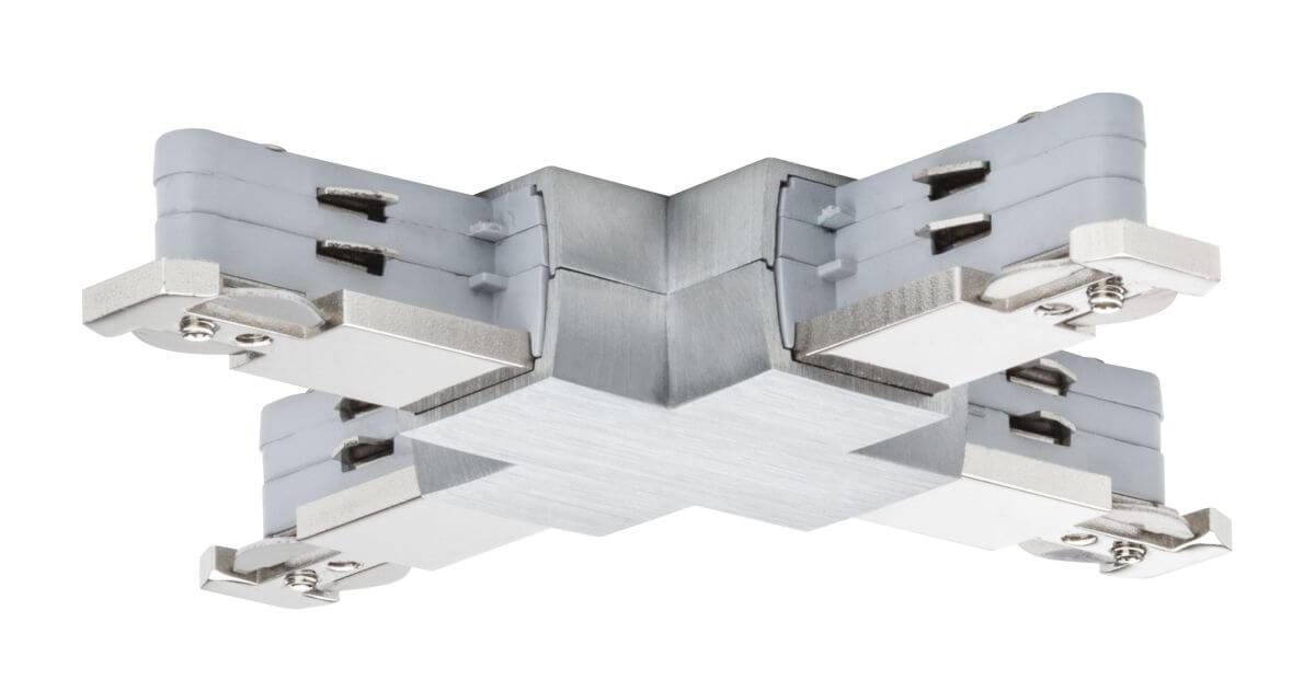 Paulmann VariLine X-Verbinder für VariLine 2-Phasen-Schienensystem