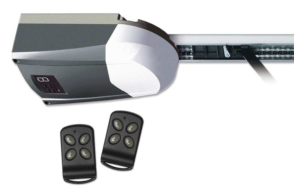 Schellenberg Smart Drive 14Garagentorantrieb inklusive 2 Handsendern max 14,0 m² Torfläche