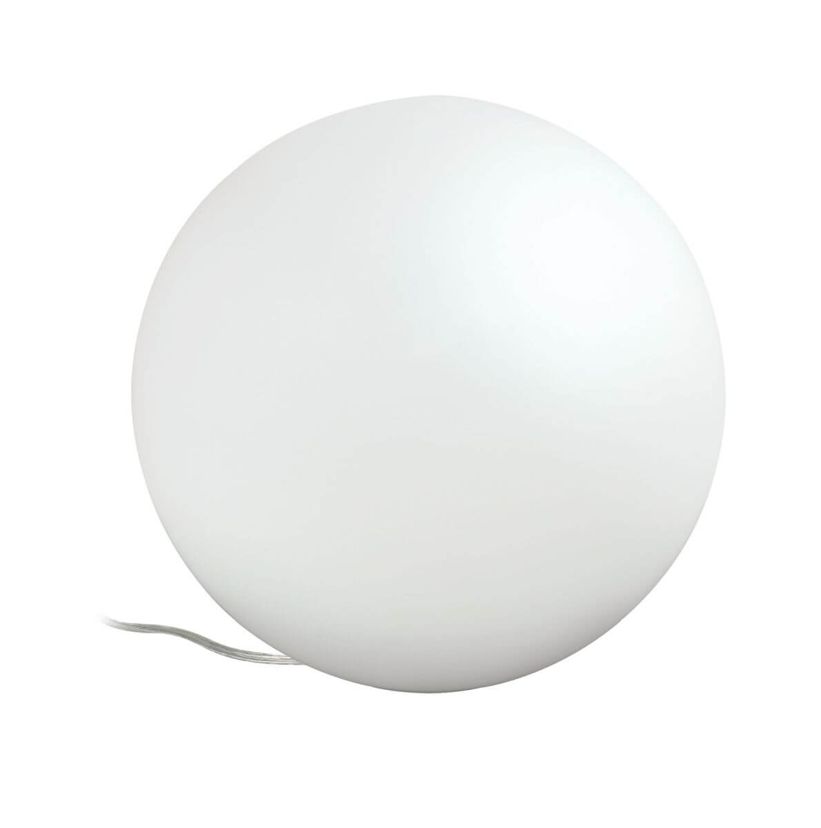 Paulmann SmartHome ZigBee Tischleuchte Siegen, LED Kugelleuchte mit App-Steuerung, Weiß