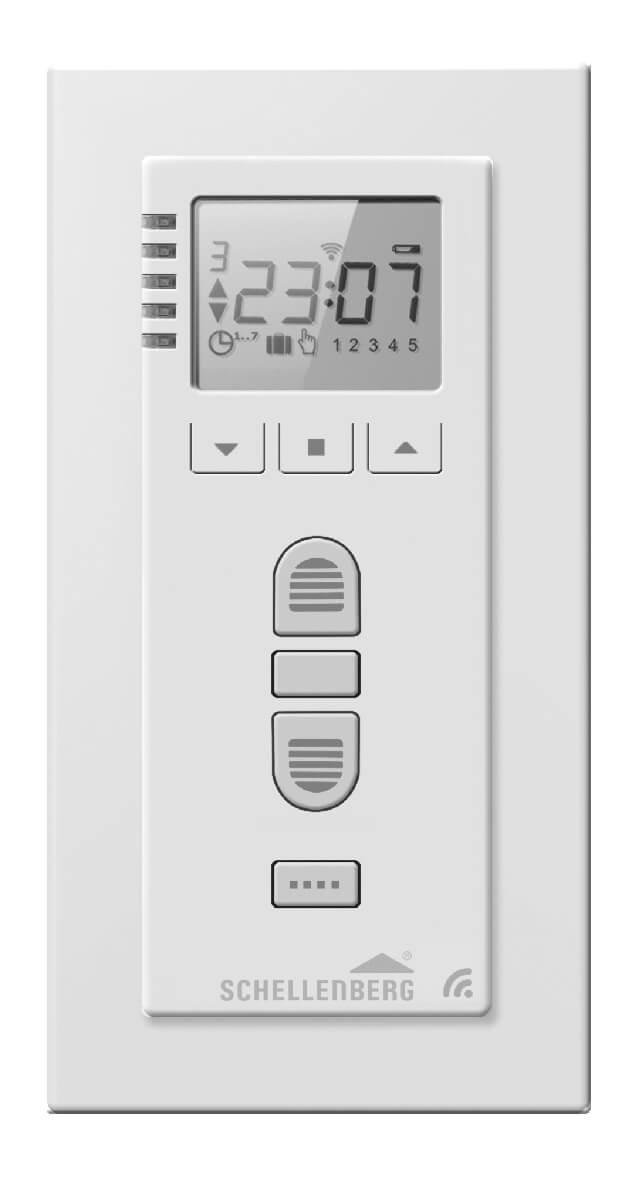 Schellenberg Funk-Zeitschaltuhr PREMIUM für Funk-Rollladenantriebe und Funk-Markisenantriebe
