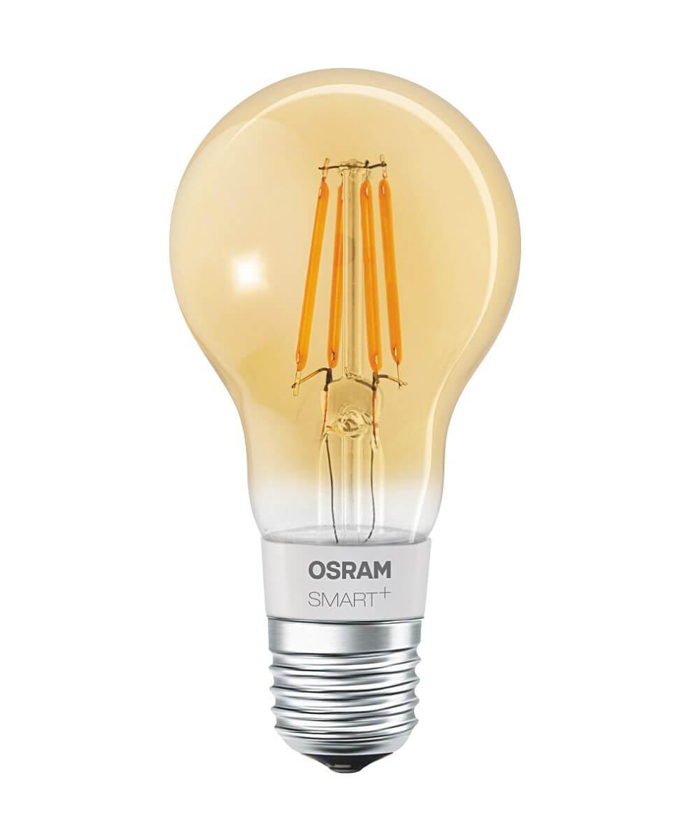 osram smart apple homekit filament led amber 5 5 w dimmbar e27 bluetooth smart home ger te. Black Bedroom Furniture Sets. Home Design Ideas