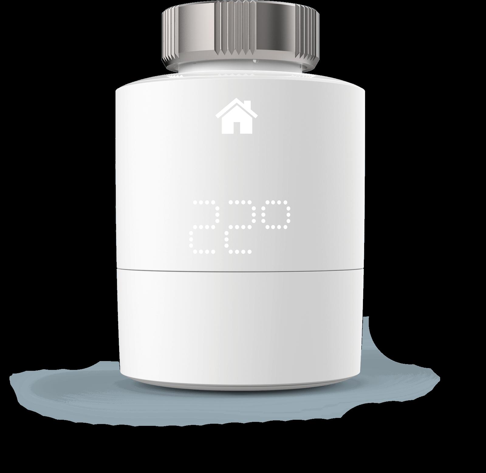 tado Heizkörper-Thermostat: Heizkörperstellantrieb per App steuern (Erweiterung zum Starter-Set)