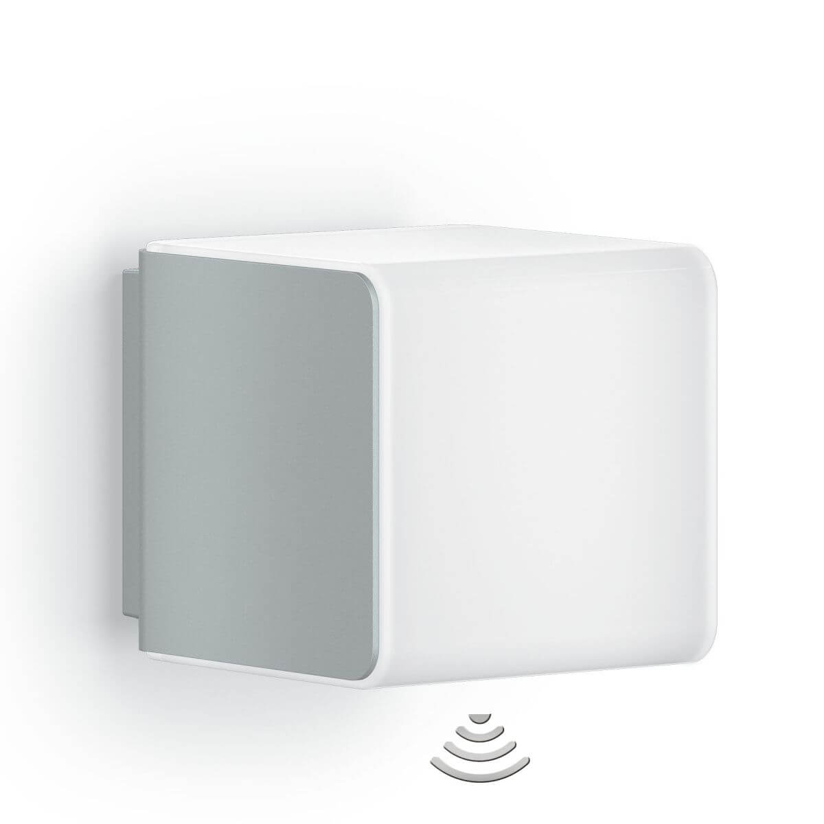 STEINEL Wandleuchte Cubo L830 LED, mit Bluetooth und Bewegungsmelder Wandlampe mit Sensor