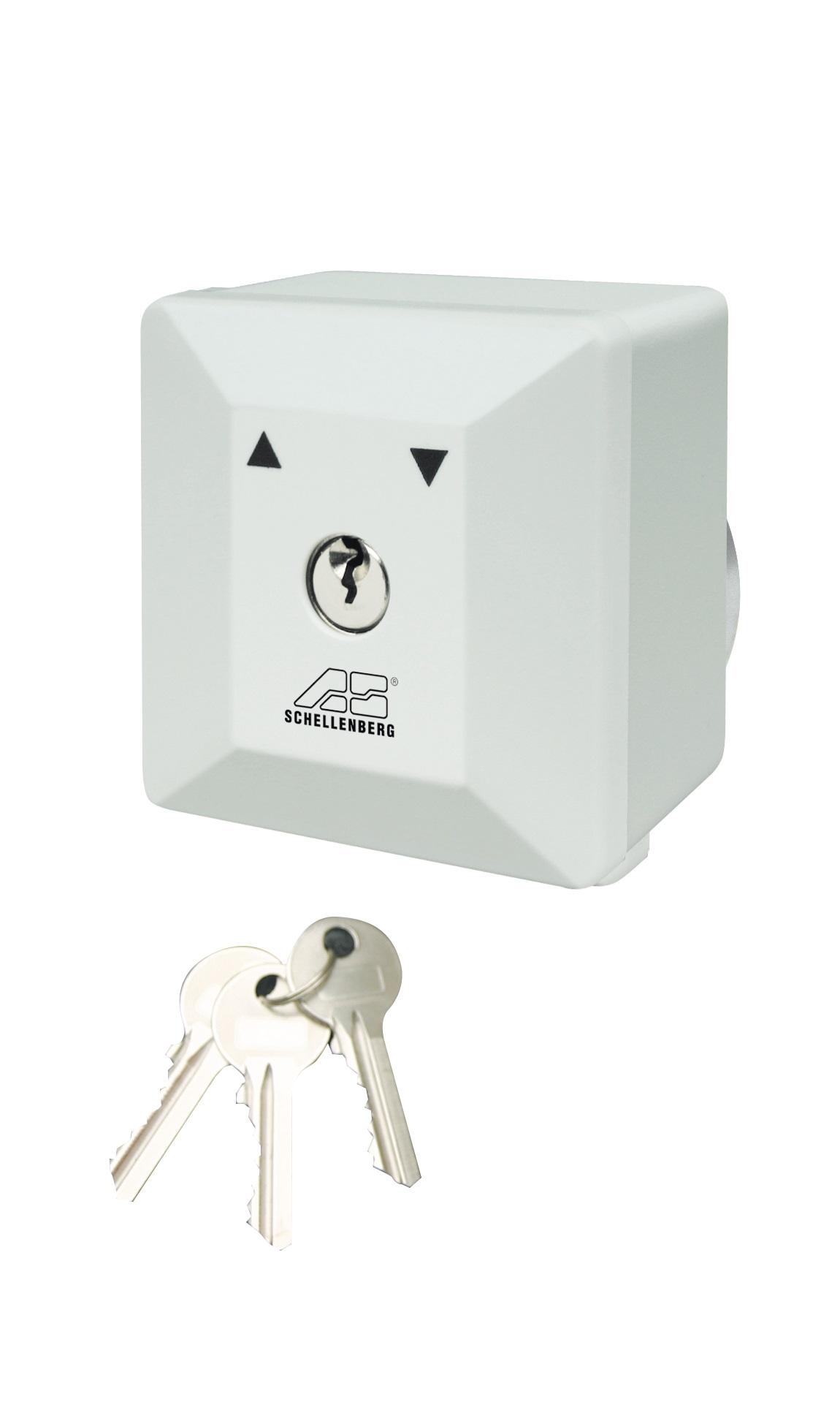 schellenberg schl sselschalter f r torantriebe aufputz und unterputz smart home ger te hier. Black Bedroom Furniture Sets. Home Design Ideas