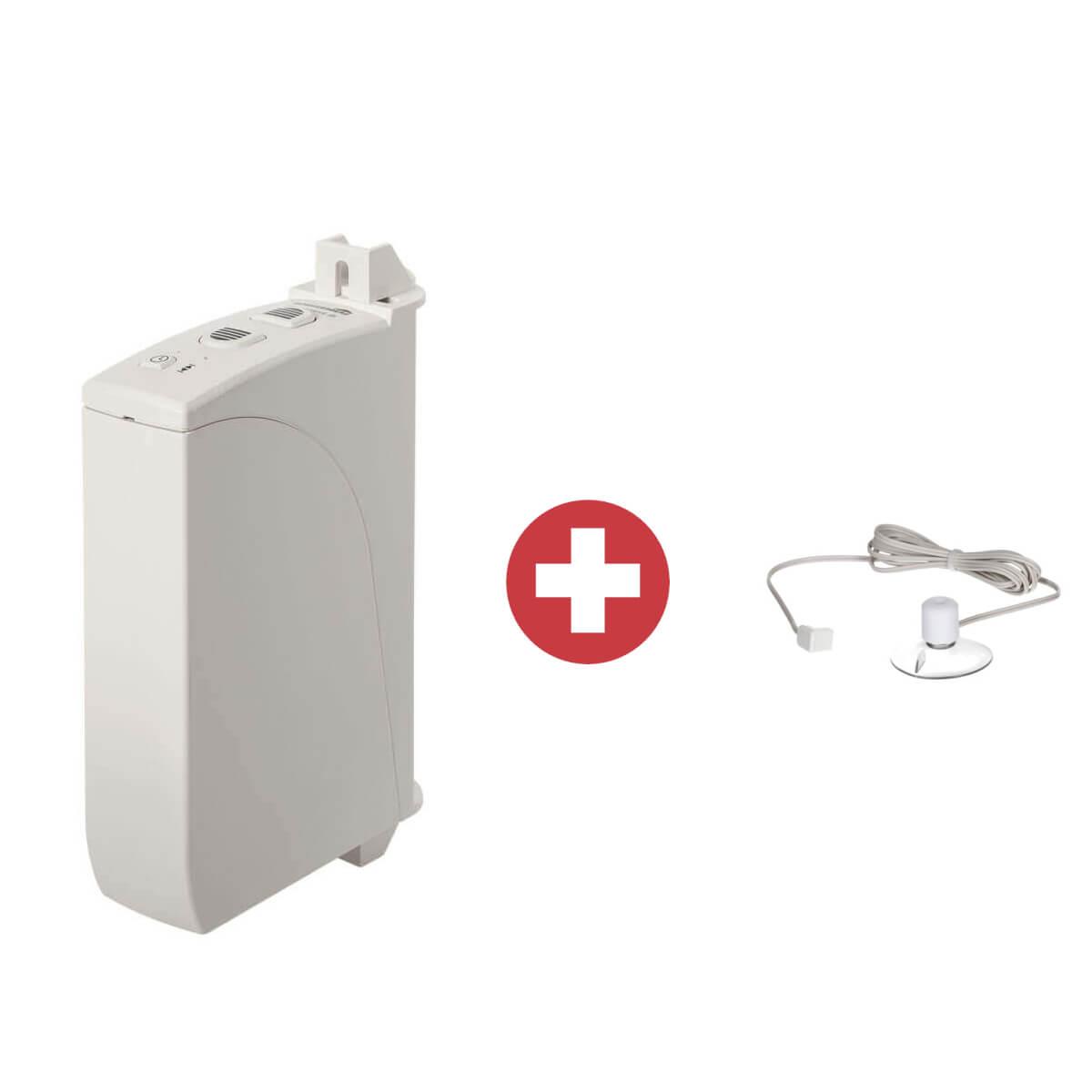 Schellenberg ROLLODRIVE 35 elektrischer Gurtwickler inkl Sonnensensor | Aufputz, 14 mm Gurt