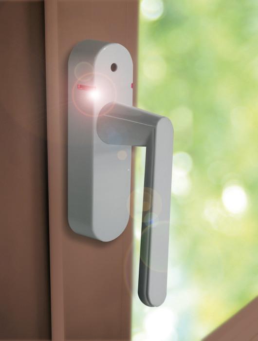 Schellenberg Smart Home Fenstergriff mit Alarm und Funk in ...