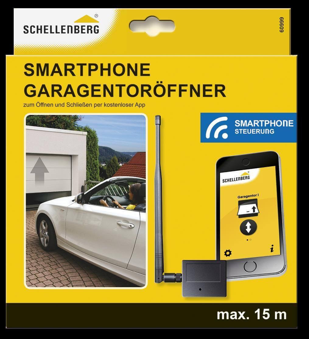 schellenberg smartphone garagentor ffner app garagentor torantrieb neu ebay. Black Bedroom Furniture Sets. Home Design Ideas